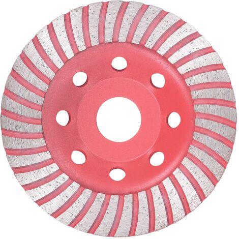 Rueda de diamante de lijar con turbo 115 mm