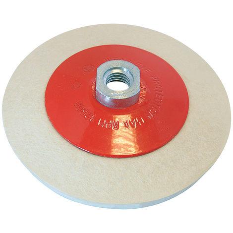 Rueda de fieltro biselada para pulido 115 mm - NEOFERR