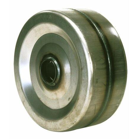 Rueda de hierro Ø 320X100 cubo de rodamiento Ø 52
