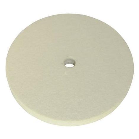 Rueda de pulido de fieltro 150 mm SILVERLINE