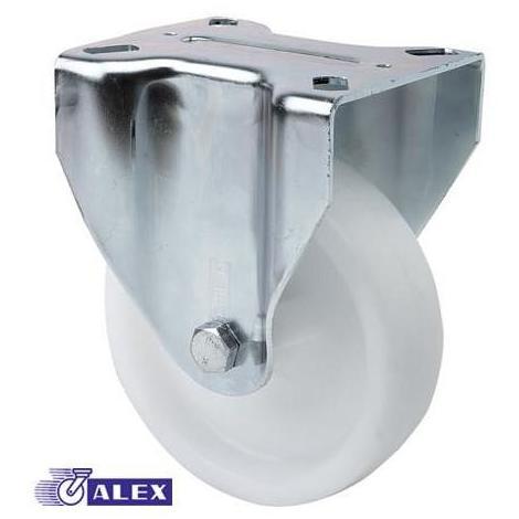 Rueda fija 2-0240 125ømm 250kg poliamix ALEX