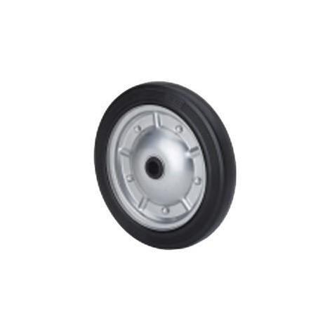 Rueda fija 2-0368 Ø230mm 200kg goma negra ALEX