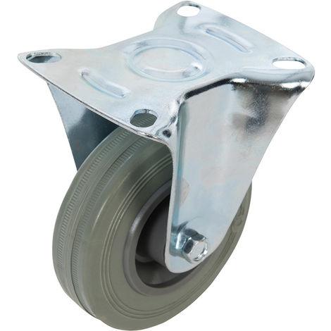 Rueda fija de goma 100 mm, 70 kg - NEOFERR