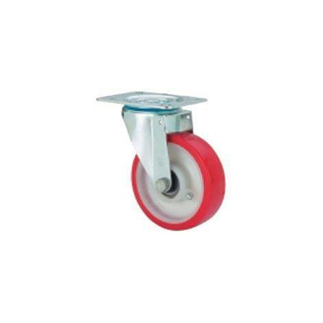 Rueda giratoria 2-1170 100ømm 200kg poliuretano inox ALEX
