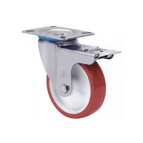Rueda giratoria con freno 2-2977 Ø100mm 130kg ALEX