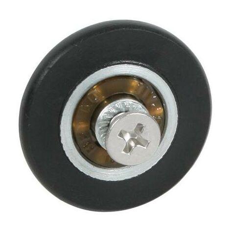 Rueda Mampara Rodamiento Metalico 26mm Con Tornillo Ne Micel