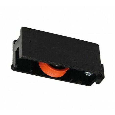 Rueda Mampara Rodamiento Nyl Negro Aluminiogom 400