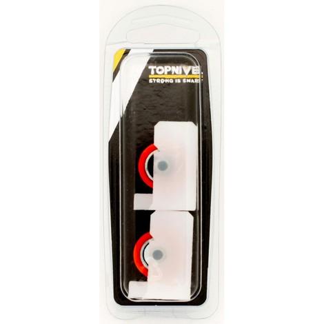 Rueda mampara rodamiento nylon 37x25,5mm nv107598 nyl bl 172