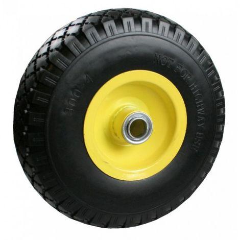 Rueda + neumático 3.00-4 tienen poco acero borde