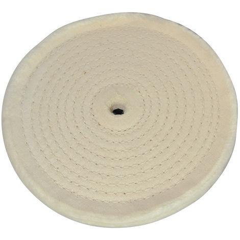 Rueda pulidora con diseño en espiral 150 mm - NEOFERR