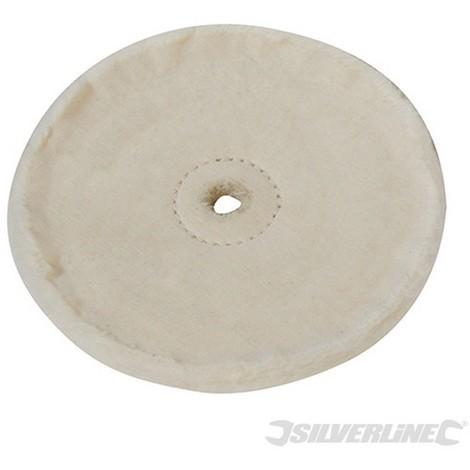 Rueda pulidora de algodón (150 mm)