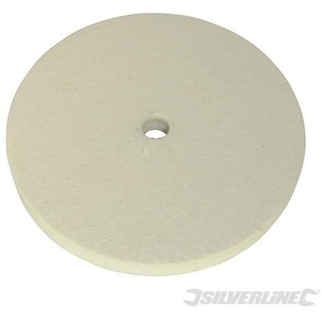 Rueda pulidora de fieltro (150 mm)