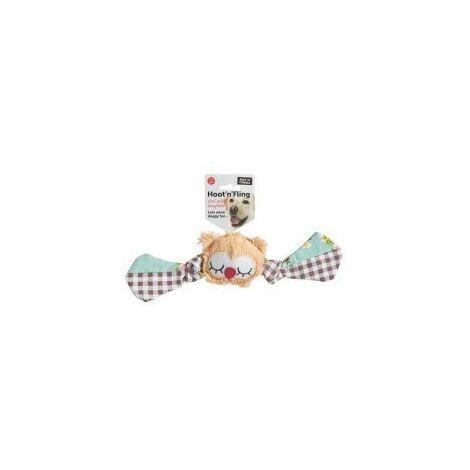 Ruff N Tumble Hoot N Fling Owl Tug Toy (147408)
