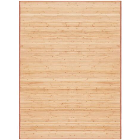 Rug Bamboo 160x230 cm Brown