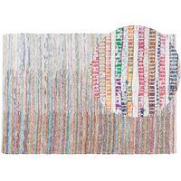 Rug - Carpet - Short Pile - Cotton - 140x200 cm - Multi-colour - MERSIN
