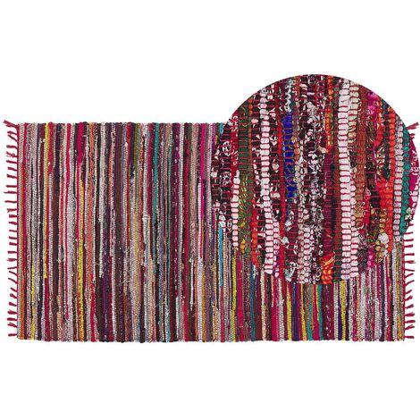 Rug - Carpet - Short Pile - Cotton - 80 x 150 cm - Multicolour - DANCA