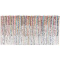 Rug - Carpet - Short Pile - Cotton - 80x150 cm - Multi-colour - MERSIN