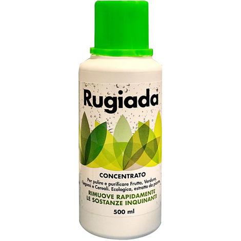 RUGIADA - Igienizzante ecologico per la pulizia di frutta, verdura e cereali Eco & Biofood