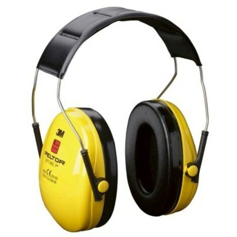 ruido de casco amarillo 3M PELTOR H510A OPTIME 1