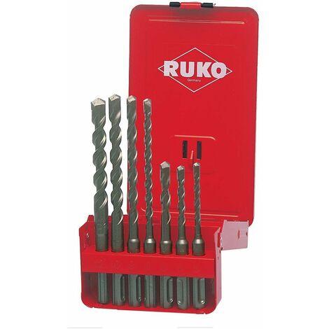 RUKO 205246 - JUEGO DE 7 BROCAS SDS-PLUS S4
