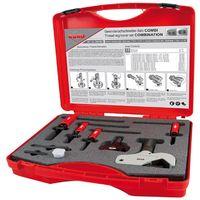 RUKO 244907 - Juego de restauradores de roscas hembra y macho COMBi, 12 piezas (4 - 38 y 8 - 32 mm)