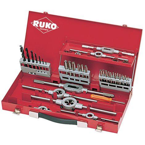 RUKO 245030 - Juego herramientas de roscar ( 44 piezas)