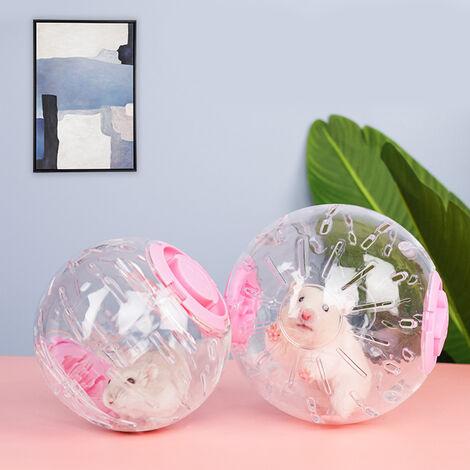 Run Ball Flash Light Roue Pour Hamsters Transparent Petits Animaux Mini Rolling Ball Speical Cadeau Pour Animaux De Jogging