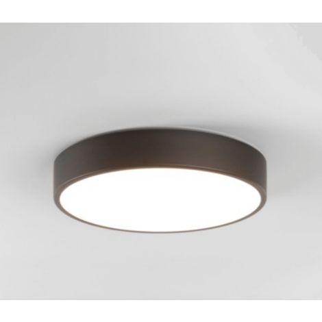 Gebogene Wand Lampe Drau H10 cm LED weiß