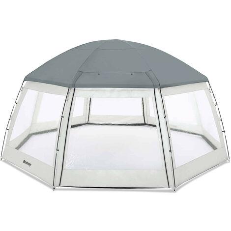 Runde Pool Kuppel 600x600x295 cm - 58612