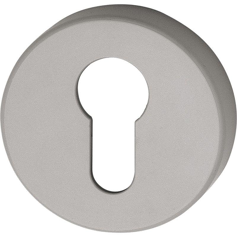 HEWI Schlüsselrosetten-Paar 306.23PB 99 Ku.99 Schildst.10,5mm PZ rd.
