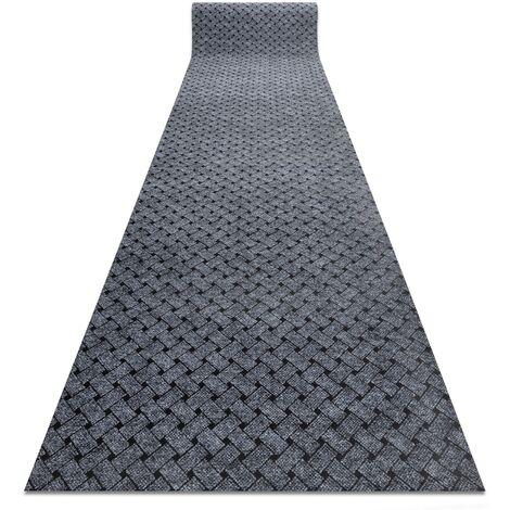 Runner - Doormat antislip 100 cm VECTRA 902 outdoor, indoor light grey Shades of grey and silver 100x110 cm