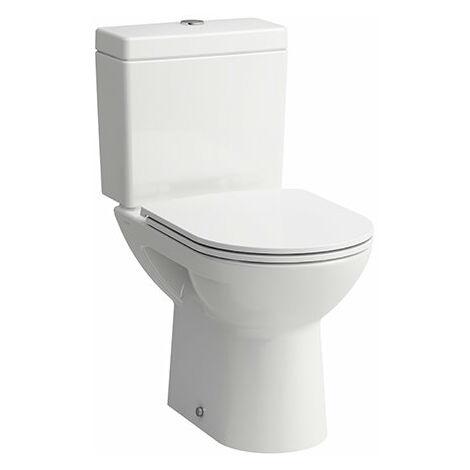Running PRO, inodoro de lavado independiente, salida horizontal, 360x670, color: Blanco con LCC - H8249564000001