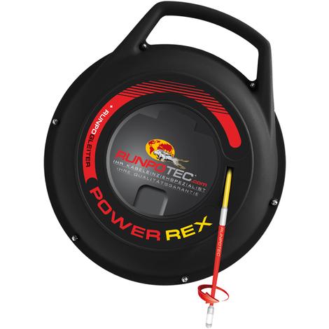 RUNPOTEC - Guía pasacables de fibra de vidrio Power Rex