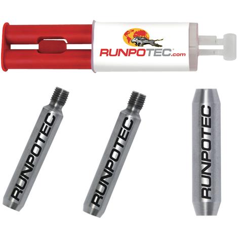 RUNPOTEC - Kit de reparación completo para guías pasacables
