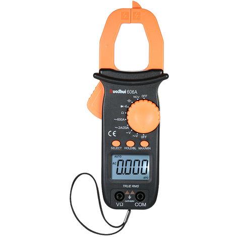 Ruoshui Pince Multimetre Numerique Mesurant La Resistance Actuelle De Capacite