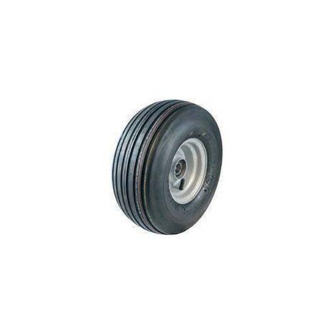 Ruota gonfiabile extra large 410 x 166 cerchio in metallo