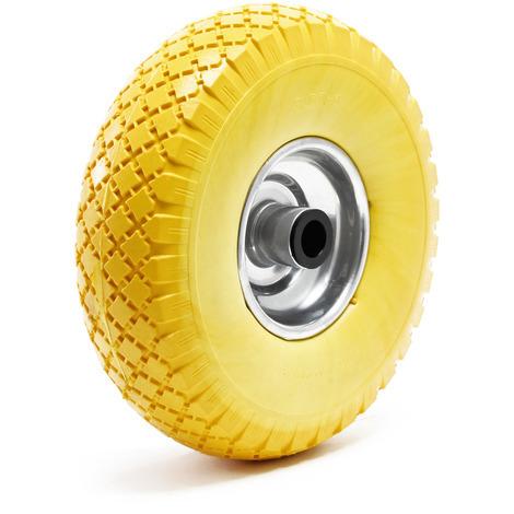 Ruota in poliuretano 3.00-4 260mm gomma piena anti-foratura cerchio in metallo