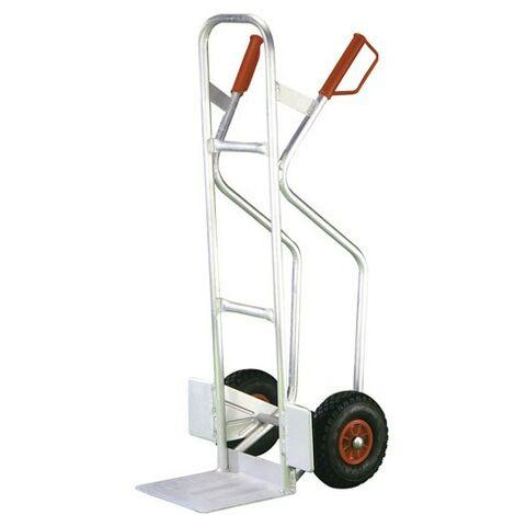 Ruota pneumatica in alluminio con carriola
