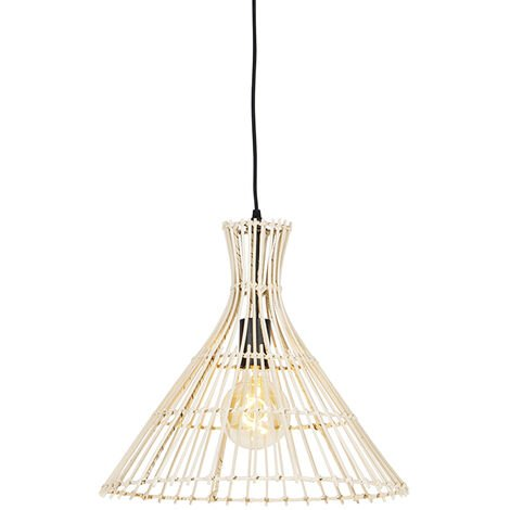 Rural hanging lamp rattan - Vida