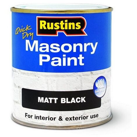 RUSMASPC500 - Rustins Masonry Paint Cream 500ml