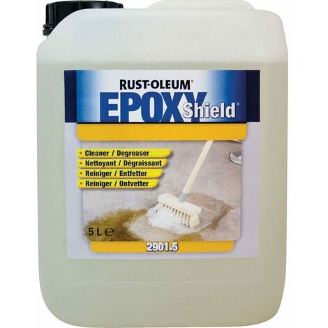 Rust-oleum 2901.5 Epoxy Shield Cleaner & Degreaser - 5 Litre