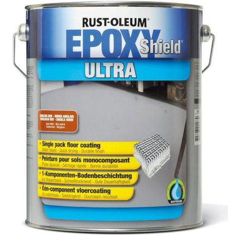 Rust-Oleum 5268 Revetement de sol Rouge anglais 5000 (Emballé par 2)
