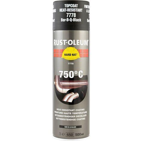 Rust-oleum 7778 Bar-b-q-black Hard Hat Spray 500ml