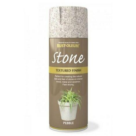 Rust-Oleum AE0070004E8 Textured Stone Effect Pebble Spray Paint 400ml