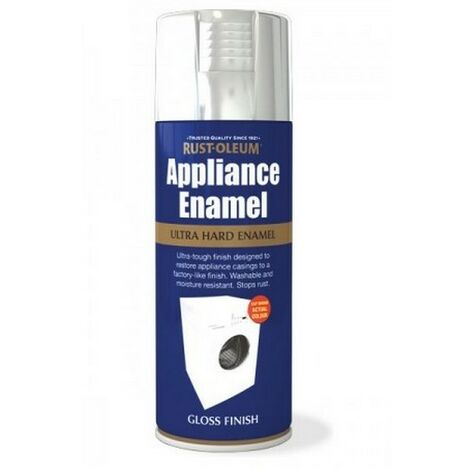 Rust-Oleum AE0090002E8 Appliance Enamel Stainless Steel Gloss Spray Paint 400ml