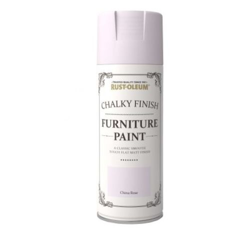 Rust-Oleum Chalk Chalky Furniture Paint 400ml Aerosol Chic Shabby Vintage Paints