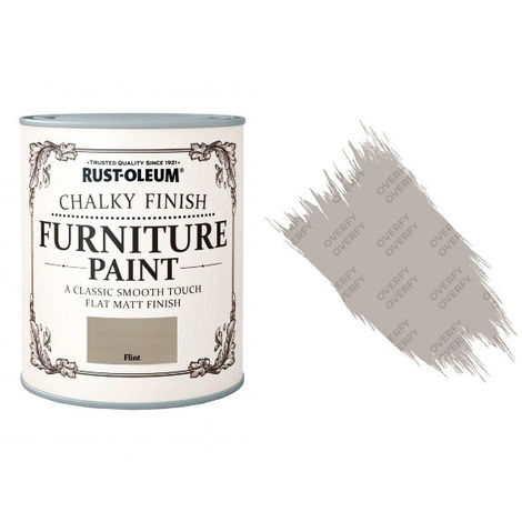 Rust-Oleum Chalk Chalky Furniture Paint 750ml / 125ml Chic Shabby Vintage Paints