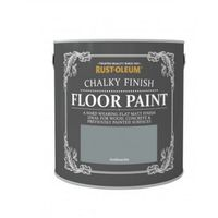 Rust-Oleum Chalk Chalky Wood Floor Paint Chic Shabby Vintage - 2.5L