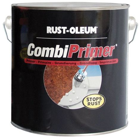Rust-Oleum - Combicolor - Anti-Corrosion Primer Grey - 2.5 Litres