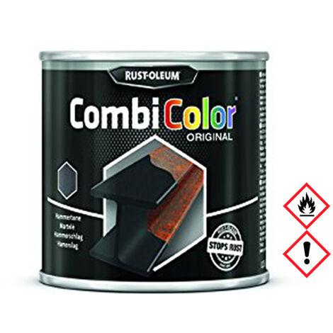 Rust-Oleum Combicolor Original Hammerschlag, Schwarz Grundierung 250ml